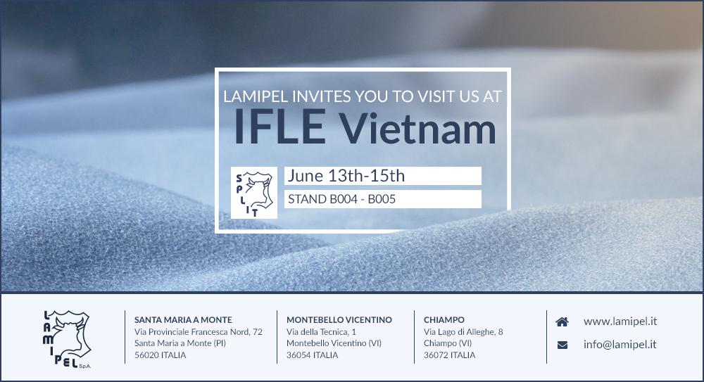 Lamipel è lieta di invitarvi presso IFLE Vietnam